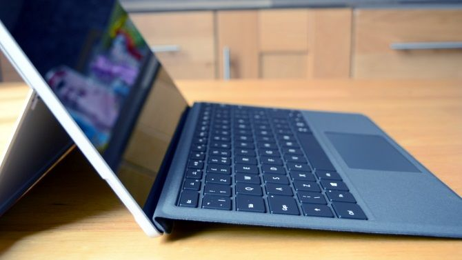 One Tablet to Rule Them All: The Microsoft Surface Pro 2017 Review muo productreviews surfacepro2017 kickstand keyboard