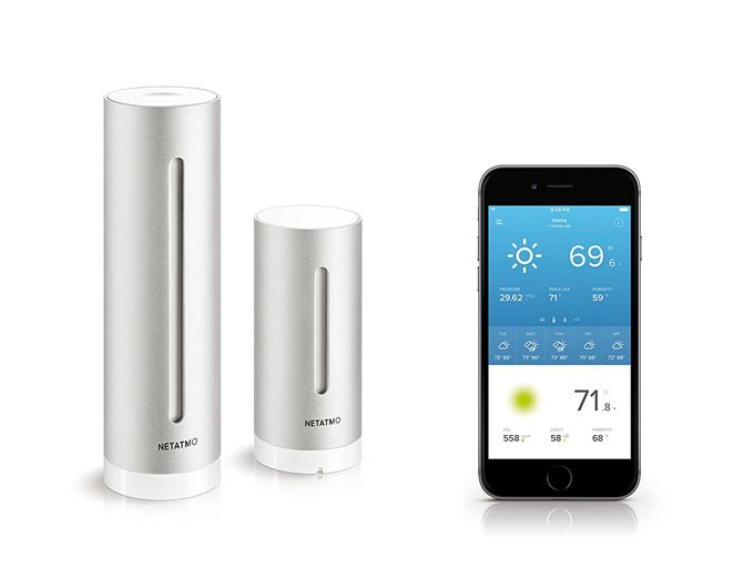 6 Smart Interior Air Quality Monitors You Should Buy For Your Home netatmo weather station