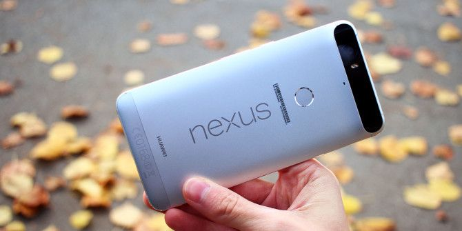 nexus 6p in hand back