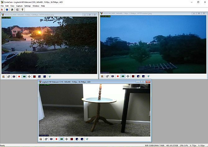 How to Build a Security Camera Network Out Of Old Smartphones phonecam2 1