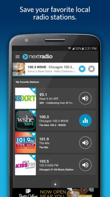 How to Unlock the FM Radio Hidden on Your Smartphone Although you can download a number of apps to stream radio stations on your  phone, using an actual FM receiver has some benefits over using the  internet.
