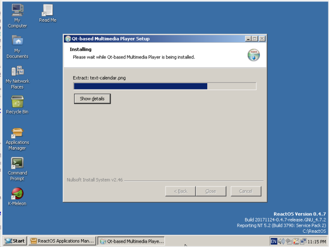 reactos review qmmp install