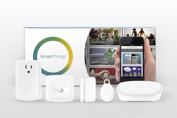 smartthings smart home automation