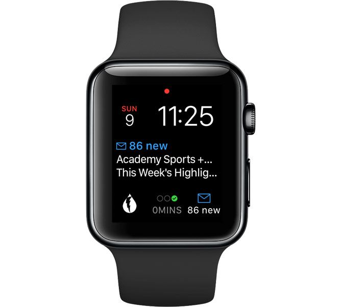 spark apple watch complication