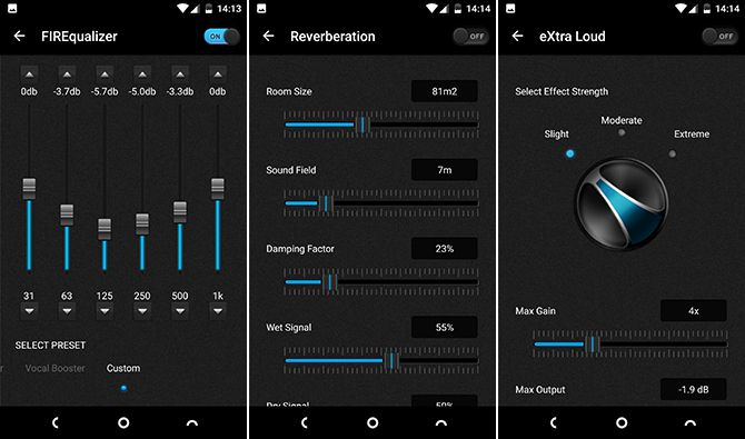 viper4android equalizer