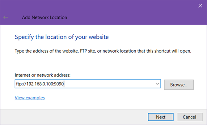 How to Turn Windows File Explorer Into an FTP Client windows 10 ftp ip address