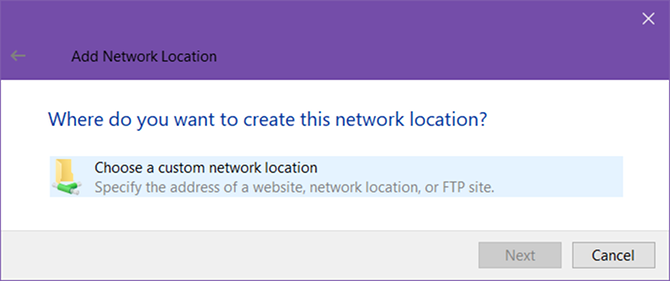 How to Turn Windows File Explorer Into an FTP Client windows 10 ftp network location