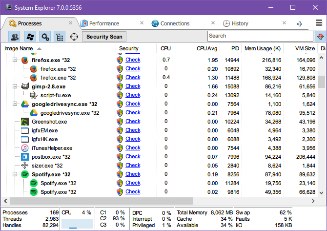5 Powerful Alternatives to Windows Task Manager Windows 10 Task Manager System Explorer 2
