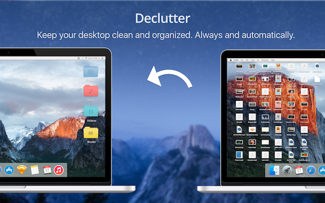 try the Declutter App for Mac when mac running slow