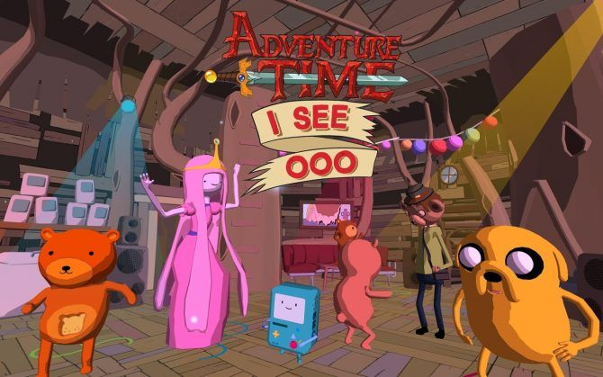 Best virtual reality games for your smartphone - Adventure Time I See Ooo VR