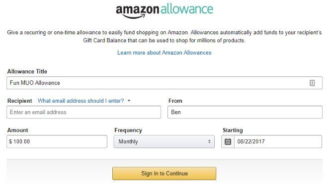How to Give Your Kids an Amazon Allowance Amazon Gift Allowance 670x379