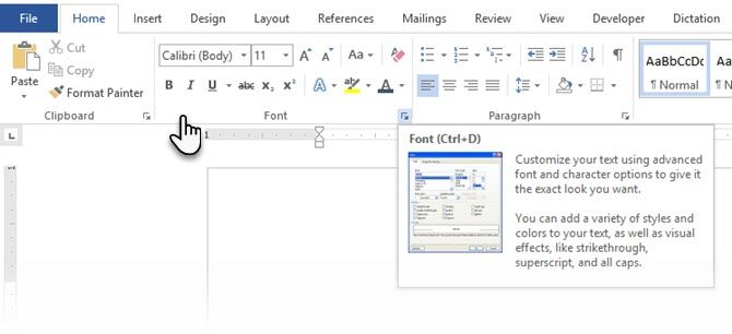 how to write co2 in word 2016
