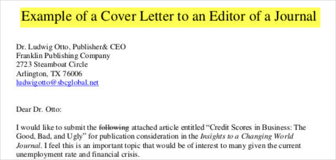 how to write a cover letter and templates to get started