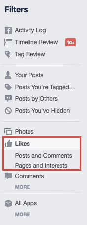 How to See Every Like, Post, and Comment You've Made on Facebook FB Likes2 1