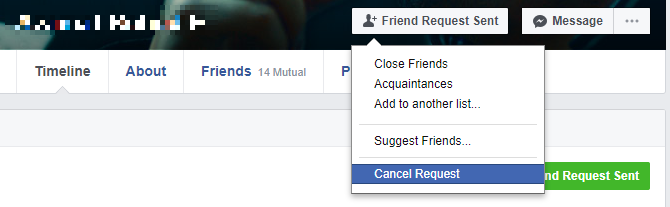 Facebook Friend Requests: Unwritten Rules & Hidden Settings Facebook Cancel Friend Request
