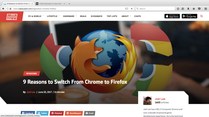 firefox on mac