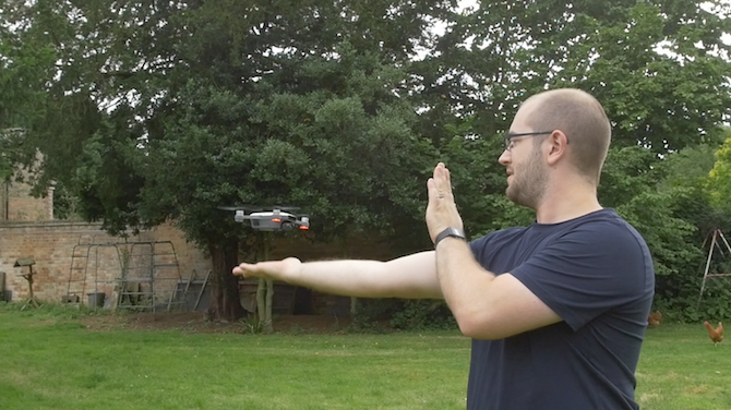 DJI Spark: The Little Drone That Could (Review and Giveaway!) Gesture