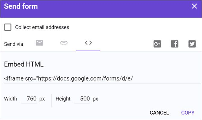 The Best Guide to Google Forms You'll Ever Find GoogleFormsFormPage EmbedLink