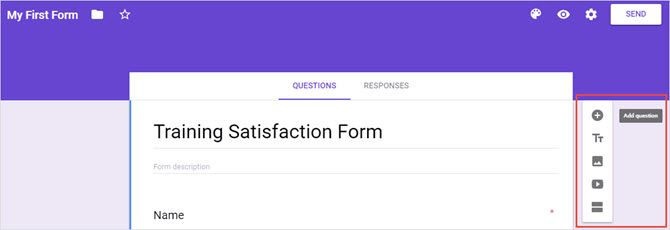 The Best Guide to Google Forms You'll Ever Find GoogleFormsFormPage TitleSidebar