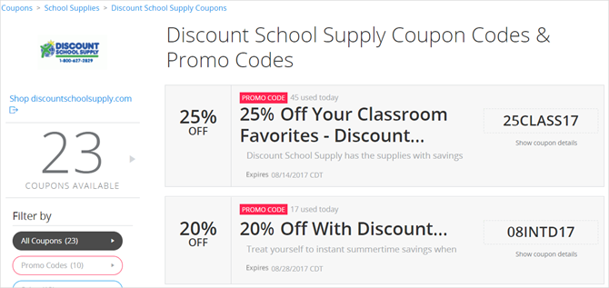 11 thrifty sites to find low prices on back to school supplies groupon school supplies fandeluxe Images