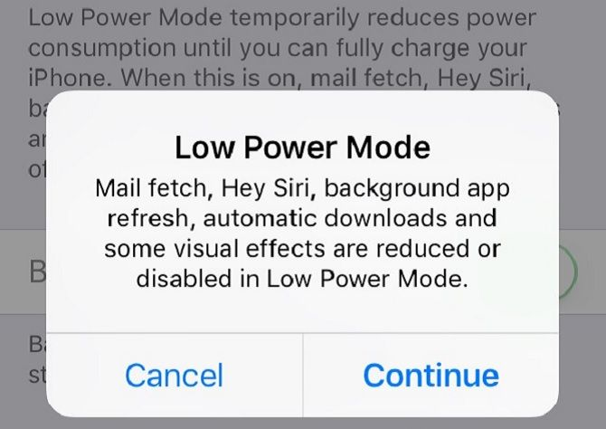 The Big iPhone Battery Guide Low Power Mode