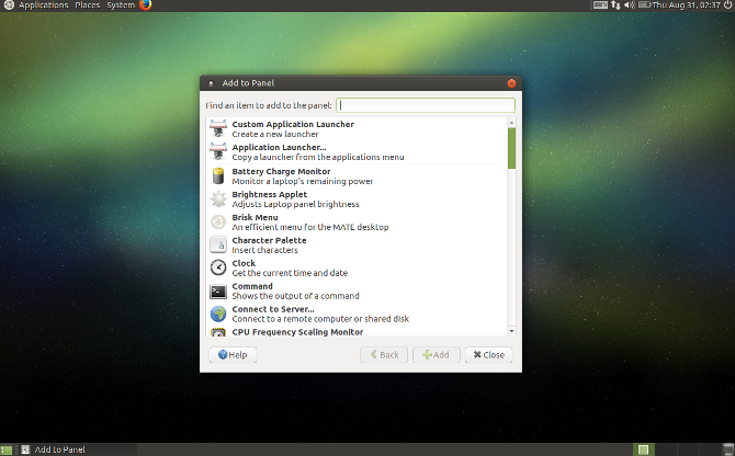 MATE Explained: A Look at One of Linux's Most Enduring Desktops MATEExplained Add Applet