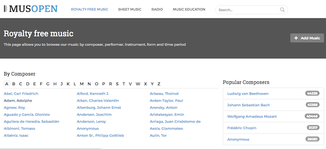 3 Places to Find Excellent Royalty-Free Music MusOpen