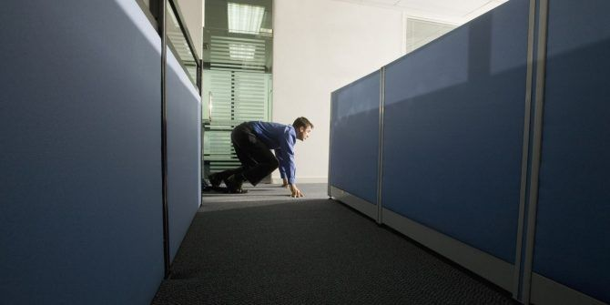 Stupid Yet Entertaining Games to Play in the Office Whilst Your Boss Isn't Looking Office Games Invisible String Crawl 670x335