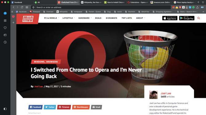 9 Great Safari Browser Alternatives for Mac Users