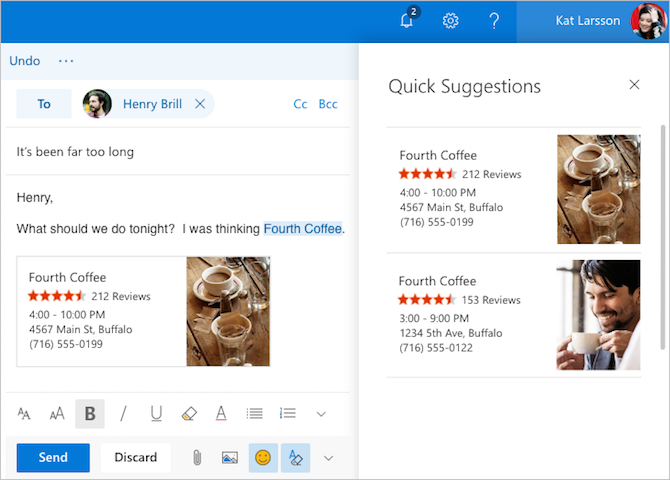 How to Unlock the New Beta of Outlook.com Outlook QuickSuggestions