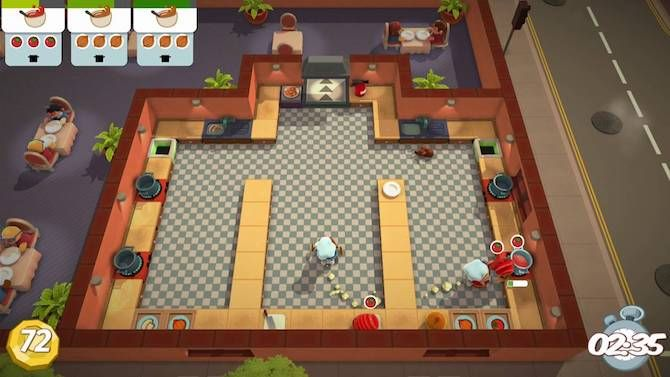 overcooked protect food