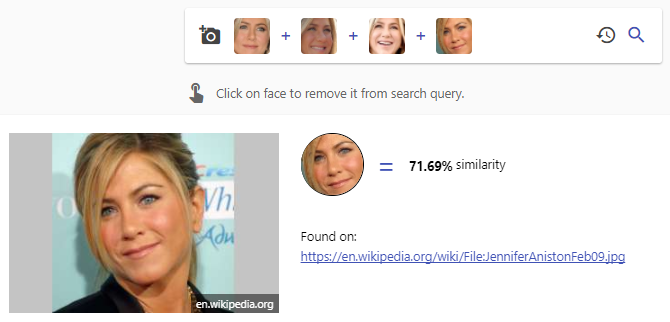 3 Fascinating Search Engines That Search for Faces PimEyes Aniston