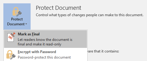 How to Create Professional Reports and Documents in Microsoft Word Protect Document