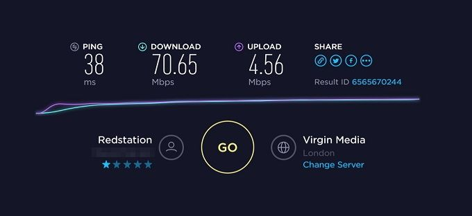 VPN Unlimited: A Reasonably Priced, Solid, and Reliable VPN VPN Unlimited Speedtest Result 1