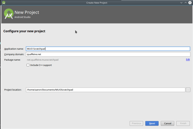 android create app androidstudio newproject1