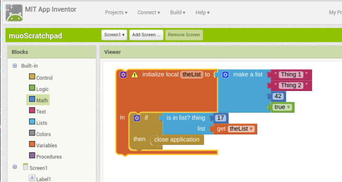 android create app appinventor allblocks