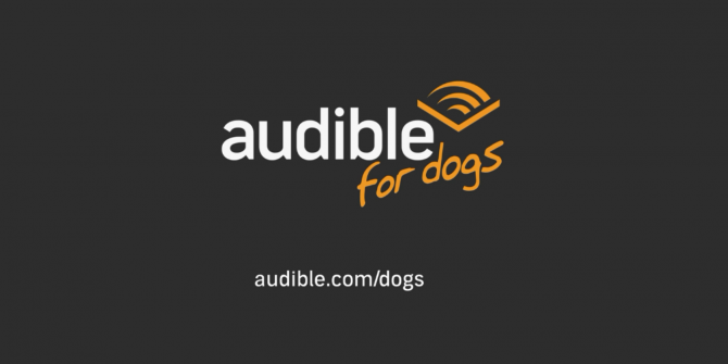 Audible Wants Your Dogs to Listen to Audiobooks