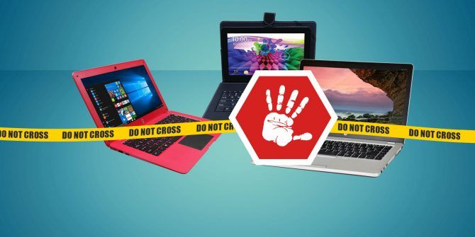 3 School Laptops You Shouldn't Buy for Any Reason