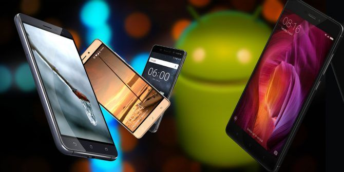 The 5 Best Cheap Android Phones in 2017