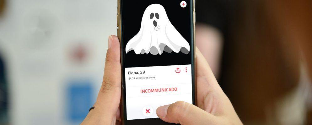 Online Ghost dating website