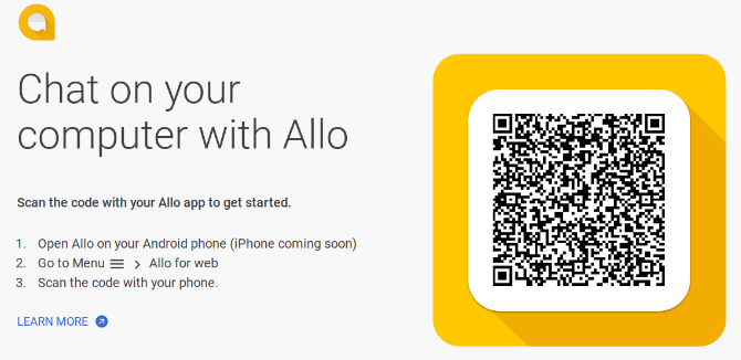You Can Now Use Google Allo on the Web google allo web