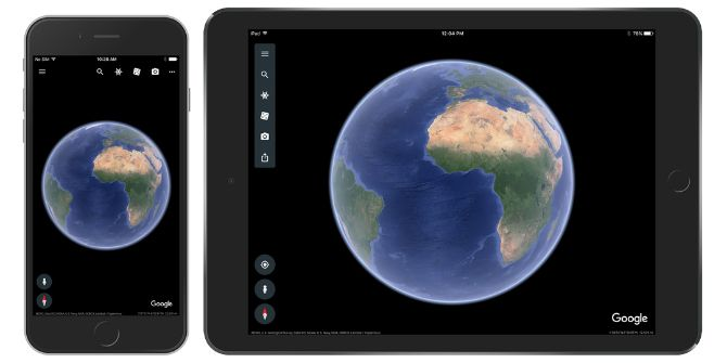 The New Google Earth Is Now Available on iOS google earth iphone ipad