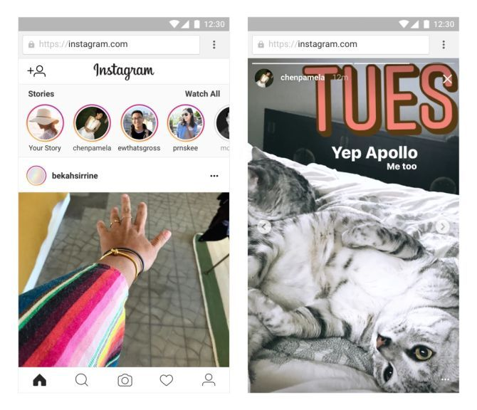 Instagram Stories Makes Its Way to the Mobile Web instagram stories