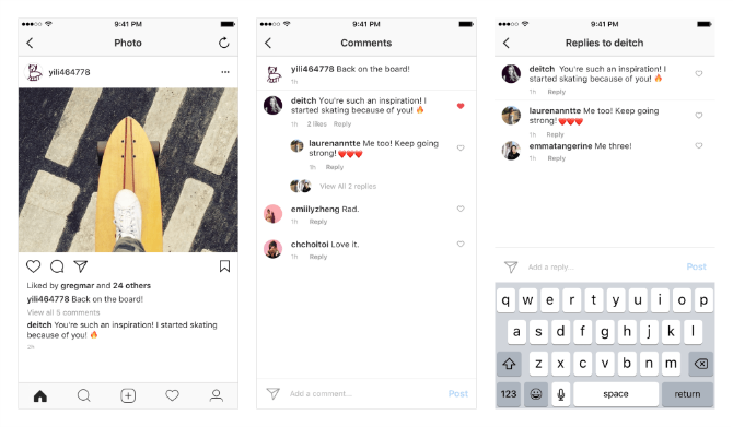 Instagram Is Finally Adding Threaded Comments instagram threaded comments