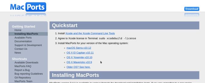 macports app download