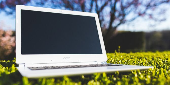11 Things You Must Do With a Brand New Laptop laptop on grass