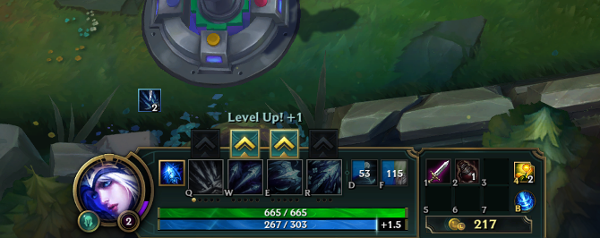 league of legends level up