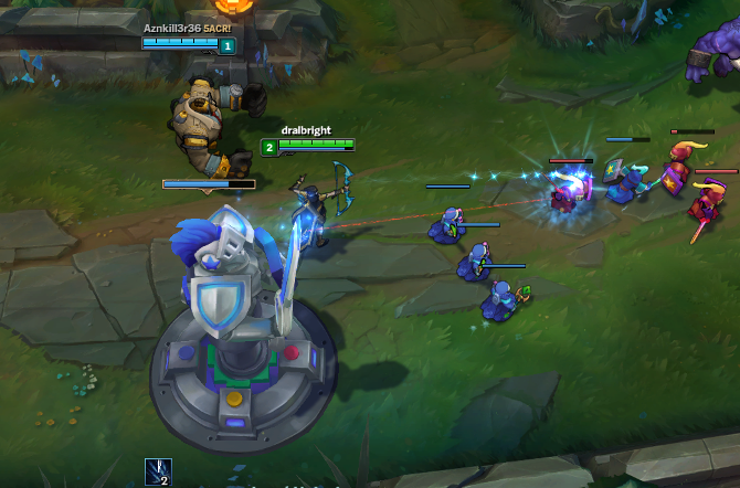 league of legends turrets