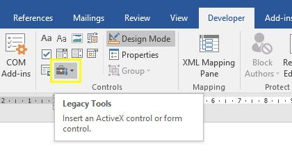 How to Integrate Excel Data Into a Word Document legacy tools