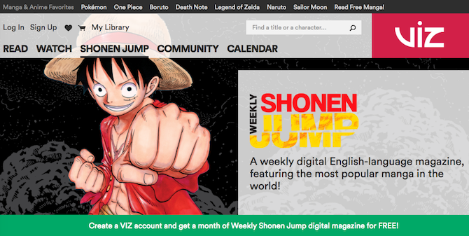 The 5 Best Sites to Read Manga Online manga weeklyshonenjump 670x337